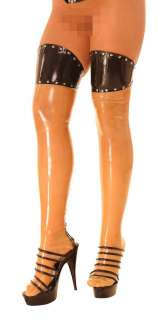 Anita Berg Rubber LateX stocking Strümpfe m.zip. S  XL