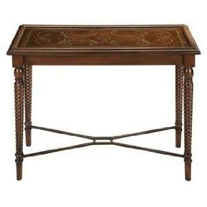 Espaniola Reverse Painted Glass Hall Table
