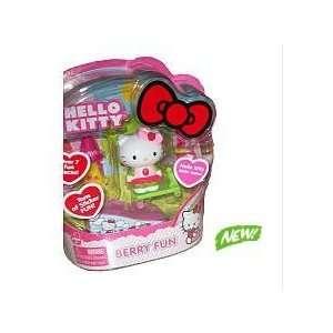 Hello Kitty Rollin Action Mini Figure Set   Berry Fun Toys & Games