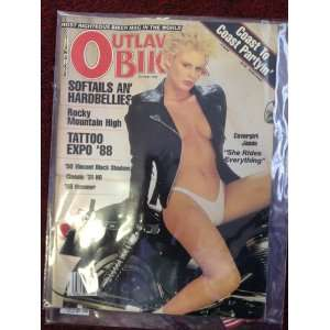 OUTLAW BIKER    OCTOBER 1988 ISSUE: OUTLAW BIKER: Books