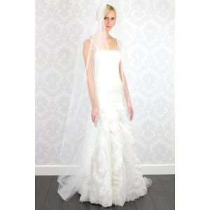 Nina Bridal Claire Veil Diamond White for Brides Wedding