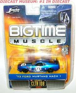 1973 73 FORD MUSTANG MACH 1 JADA MUSCLE DIECAST RARE
