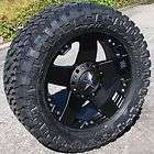 20 BLACK XD ROCKSTAR WHEELS & 35 NITTO TRAIL GRAPPLER FORD F150