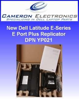 New Dell E Port Plus Replicator PRO2X CY640 YP021 Plus PA 4E AC