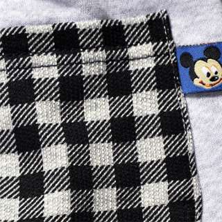 NWT Boys Gray Disney Mickey Mouse Fleece Pants 2 9Yrs