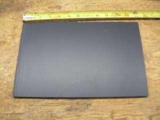 ABS MACHINABLE PLASTIC SHEET 5/16 X 12 X 19.25