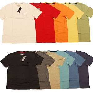 TOMMY HILFIGER MENS T SHIRT LOT OF 5 ALL SIZES & COLORS