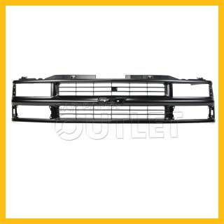 94 99 CHEVY SUBURBAN C/K PICKUP TAHOE BLACK FRONT GRILLE GRILL