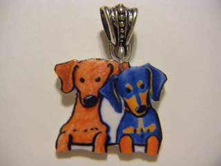 Dachshund pendant cute puppies dog jewelry animals fun