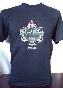 HARD ROCK CAFE BANGKOK THAILAND TATTOO T SHIRT Sz LARGE