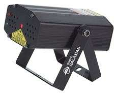 American DJ Micro Galaxian Compact Red/Green Mini Laser Light Effect