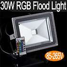 Lot of 4 30W RGB Color Changing Outdoor Remote Control LED Flood Light