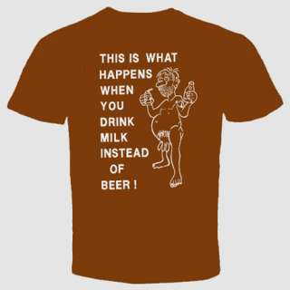 crazy funny beer cool T shirt This Is What Happens Tee