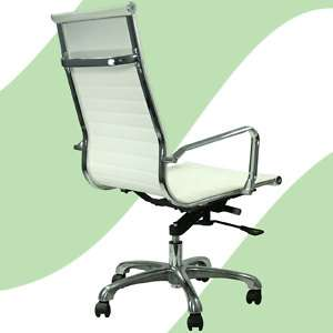 Modern White Lider High Back Office Chair Conference