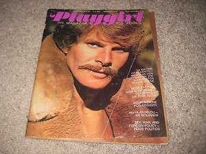 PLAYGIRL MAGAZINE OCTOBER 1974 DR PAUL KEITH RARE