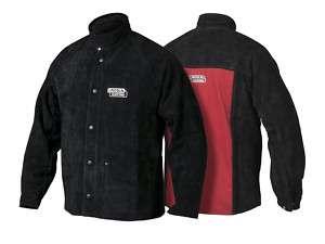 Lincoln Heavy Duty Leather Welding Jacket Size Medium K2989 M