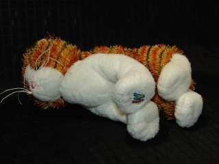 WEBKINZ PLUSH ONLY NO CODE TIGER STRIPPED ALLEY CAT TOY