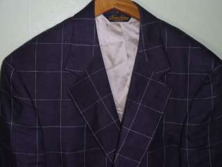 Brooks Brothers Navy Blue Pure Linen Sport Coat 42 R