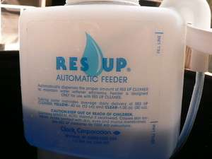 RINSE automatic feeder for water softner EASY INSTALL IN 1 MIN