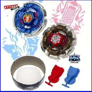 TOMY Beyblade Metal Fight BB 32 Hybrid Wheel Match Set