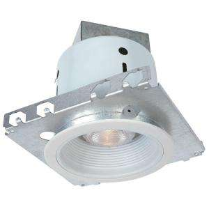 Commercial Electric 5 in. White Recessed Lighting Kit (K2) CAT104 at