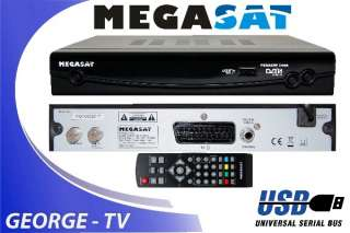 SAT Anlage 80cm Antenne Digital Sat Receiver 3 LNB 3 Satelliten