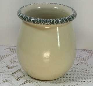 Ware Pottery Rooster/Chicken Kitchen Gadget Jar Crock USA made