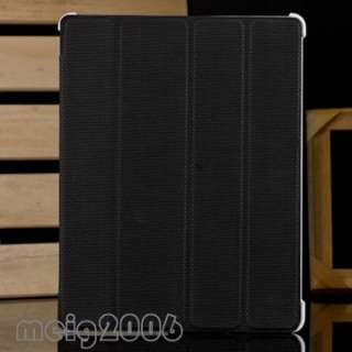 Slim Full Body Cover PU Leather Case Stand for New iPad 3 2