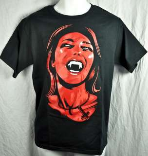UNHOLY SUCCUBUS VAMPIRE GIRL MENS T SHIRT GOTH HORROR