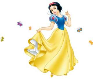 HUGE SNOW WHITE Decal Disney Princess Removable Repositionable WALL