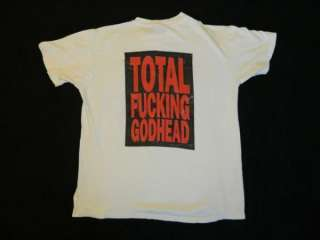1988 SOUNDGARDEN SCREAMING LIVE VINTAGE TOUR T SHIRT CONCERT 80S