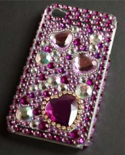 iPhone 4 STRASS Cover Hard Case BLING GLITZER