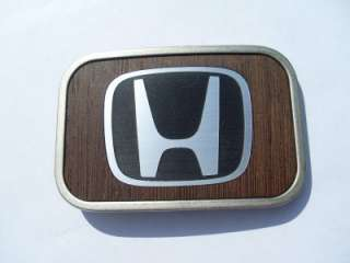 Official Wood HONDA Belt Buckle civic accord si s2000 R