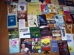 Lot of Christian Religious Prayer Bible Spiritual Books