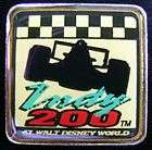 DISNEY PIN   INDY 200   WALT DISNEY WORLD   RACE CAR
