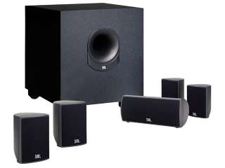 JBL SCS145.5BK Z 6 piece Home Cinema Speaker System with Powered