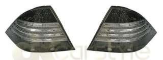 Mercedes W220 S Klasse LED Rückleuchten Heckleuchten schwarz / smoke
