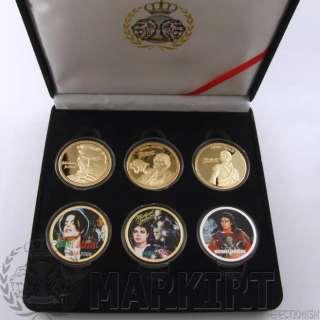 Michael Jackson GOLD EDITION Münze Münzset Münzen