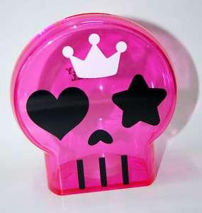 Cute Rockabilly SKULL Emo Totenkopf Spardose   pink