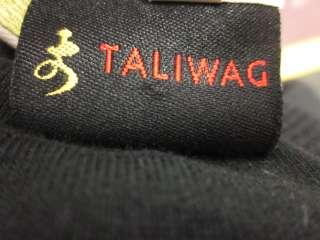 TALIWAG White Floral Animal Print Dolman Sleeve Top 4