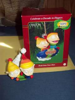 Rugrats Dil Tommy On Sled Heirloom Carlton Ornament