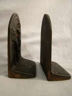 RARE Antique CAST IRON Old ART DECO Era DON QUIXOTE Figural MAN