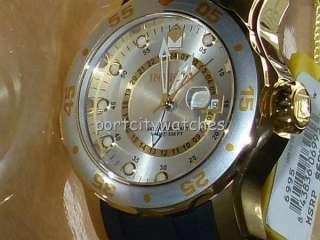 Invicta Mens New Swiss Pro Diver Scuba Quartz GMT Dual Time Watch No