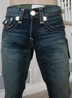 NWT True religion mens Billy Super T chain stitch jeans in Revolver