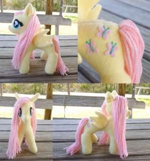 My Little Pony Friendship is Magic custom Fluttershy plush and Cube