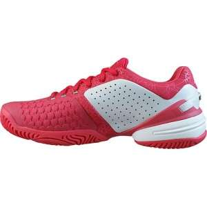 adidas Womens Dark Pink White Shoes Barricade Adilibria Tennis
