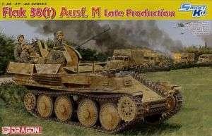 Dragon 6590 Flak 38(t) Ausf M Late 1/35 Scale Model Kit 089195865908