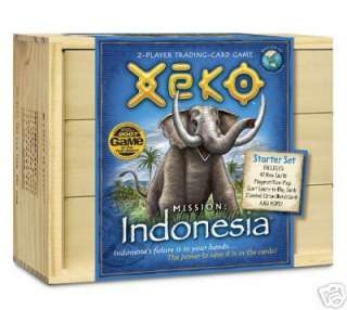 Xeko Mission: Indonesia in a Collectible Storage Box