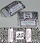 PRINT BIRTHDAY PARTY WEDDING BABY SHOWER CANDY WRAPPERS PERSONALIZED