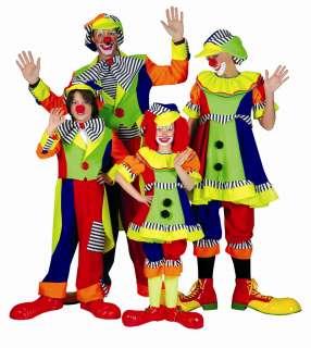 CLOWN OLAF Kostüm Herren Frack Clownkostüm Gr. 48 50